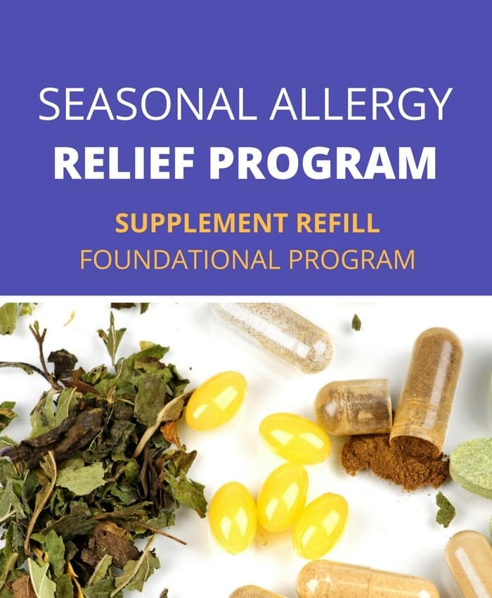 Seasonal Allergy Relief Program - Supplement Refills